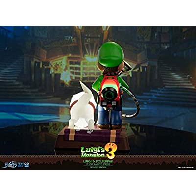 First4Figures LM03CO Luigi's Mansion: Luigi & Polterpup (Collectors) PVC Collectable Figurine: Toys & Games