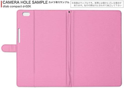 igcase d-01J dtab Compact Huawei ファーウェイ タブレット 手帳型 タブレットケース タブレットカバー カバー レザー ケース 手帳タイプ フリップ ダイアリー 二つ折り 直接貼り付けタイプ 006989 フラワー 花 フラワー 模様