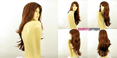 univers perruque Tania 33h Long, Smooth, Highlighted Woman's Wig In Light Blonde And Ginger (Long Ginger Wig)