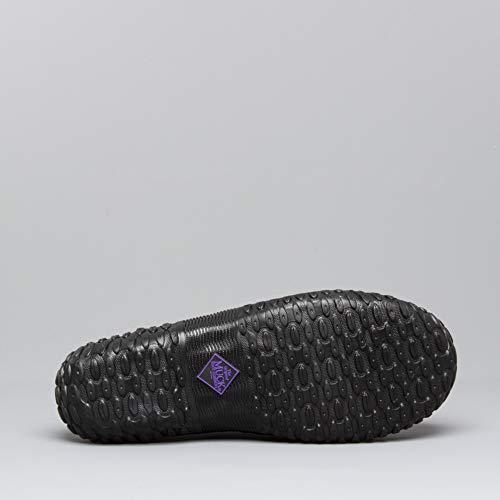 Black Muck Shoes Rubber Clog purple Womens xxZPwCq0