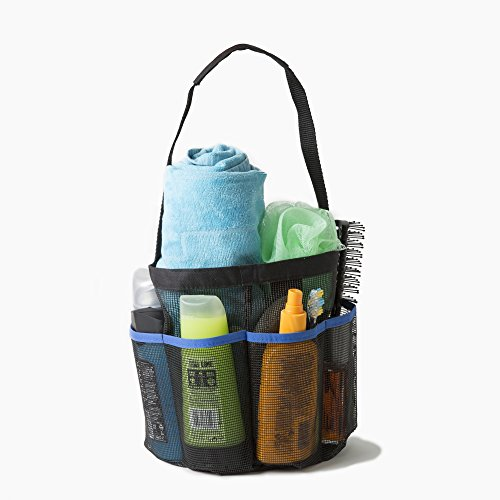 ShowerMade Portable Shower Tote Storage Organiser for this checklist and camping gear list for first time campers