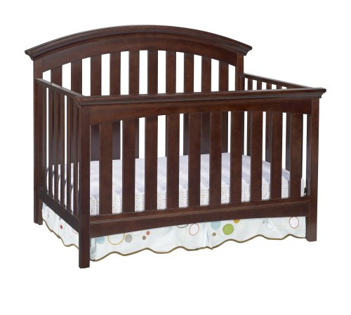 Delta Children Bentley 4 in 1 Crib, Chocolate