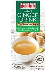 Gold Kili Instant Ginger Drink (No Added Cane Sugar), 5g (Pack of 10)