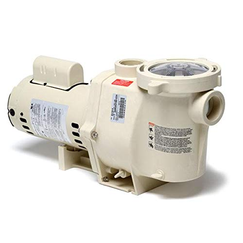 Pentair 011771 WhisperFlo High Performance Standard Efficiency Single Speed Up Rated Pump, 3/4 Horsepower, 115/230 Volt, 1 Phase ()
