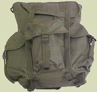 Amazon.com  2487 G.I. Type Heavyweight Canvas O.D. Mini ALICE Pack ... a7e77fc35a0