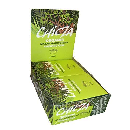 Chicza chicza Rainforest gum-lime chicles, 30-grams (Pack de 10)