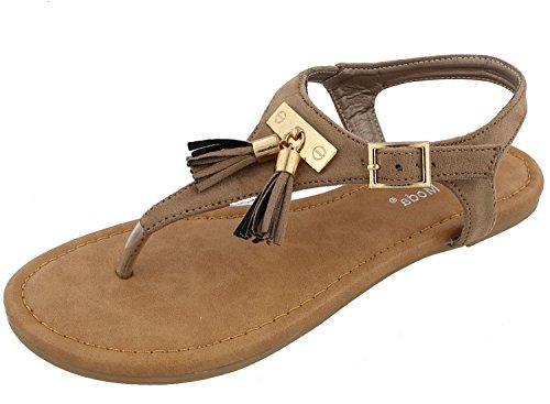 Thong Flat Heel Sandal - 2