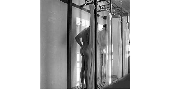 """Nude Woman with Reflection 8.5x11/"""" Photo Print Lovely Naked Female in Glass"""