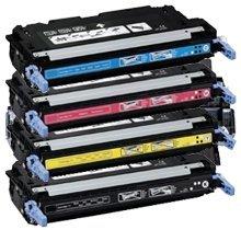 111 Cyan Toner Cartridge (Refurbished CANON 5360 Set Laser Toner Cartridge Set Black Cyan Yellow Magenta CRG-111)