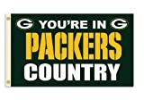 NFL Green Bay Packers 3-by-5 Foot In Country Flag