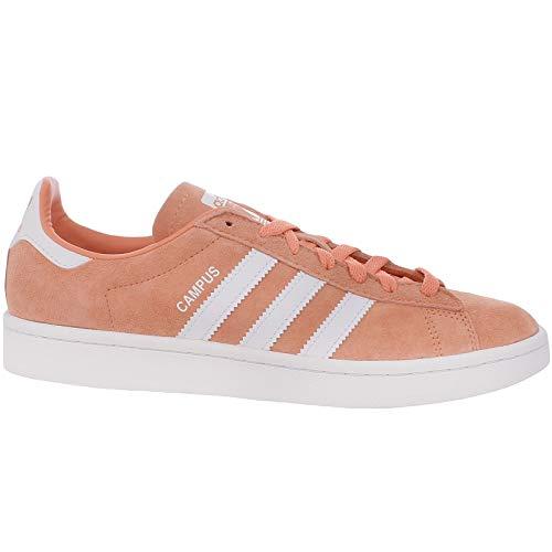 - adidas Originals Mens Campus Trainers - 11 Orange/White