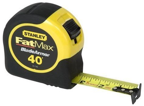 - Stanley Hand Tools 33-740L 40' FatMax Tape Rule