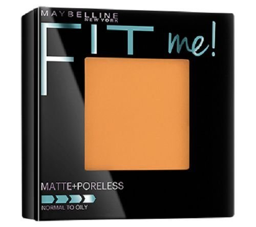 Maybelline Fit Me Matte Poreless Pressed Powder/330 Toffee/0.29 Oz. (8.5g) - Maybelline Fit Me 330