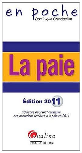 Lire en ligne La paie pdf ebook