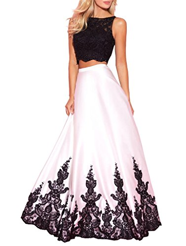 Now and Forever Lace Appliques 2 Pieces Prom Gown Evening Party Dress Size 2 - New Online Forever Shopping