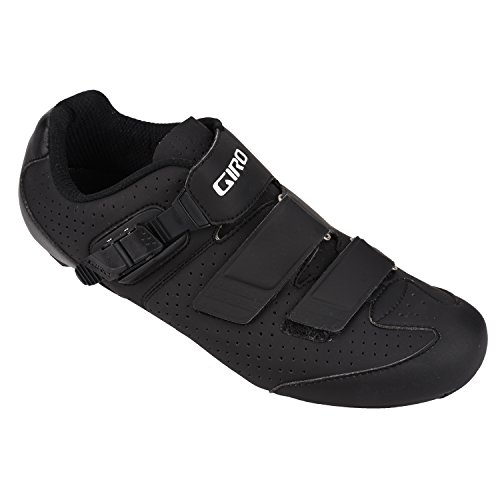 Giro 2016 Men's Trans E70 HV WIDE Road Bike Shoes (Matte Black/Black - 42) by Giro