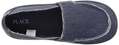 The Children's Place Boys' BB Slipon Deck Slipper, Navy, Youth 5 Medium US Infant - Image 8