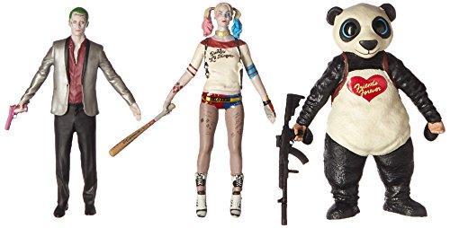Action Figure Boxed Set (Suicide Squad Bendable Action Figure Boxed Set)