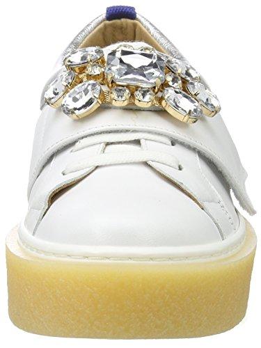 Femme Sneakers KMB Basses Gensy White Blanc 6HxZ0np