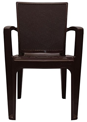 Prima Plastic Big Boss Chair Brown
