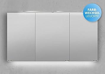 Amazon.de: Intarbad Spiegelschrank 130 cm LED Beleuchtung mit ...