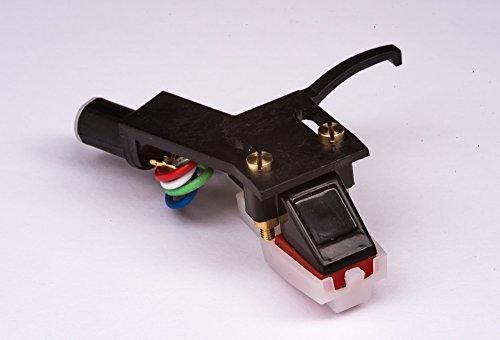 Headshell, mount, cartridge, needle, stylus for FISHER MT6420, MT35, MT100, MT6455, MT640, MT650, MT720, MT125, MT6410, MT6421, MT6118, MT273, - MADE IN ENGLAND