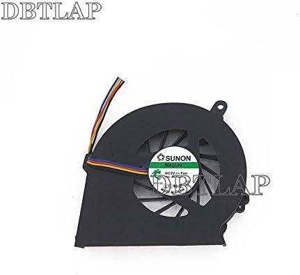 DBTLAP Ventilador de la CPU del Ordenador portátil para HP COMPAQ ...