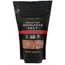 Evolution Salt - Gourmet Himalayan Pink Salt - Course Grind - Pouch 14oz