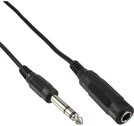 Audio Stereo 6,3mm Klinke Kopfhörer Verlängerungskabel Aux Kabel Buchse Stecker