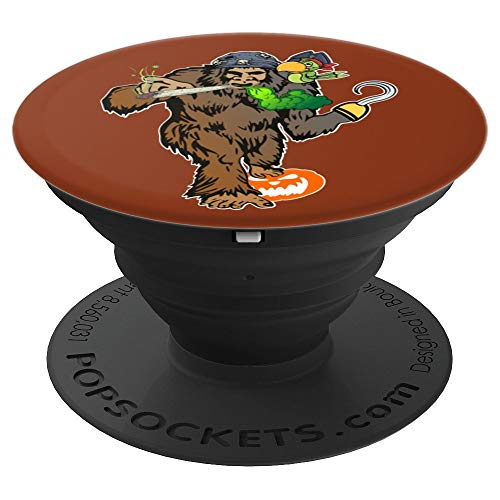 Funny Weed Pirate Bigfoot Halloween Costume Gift Ideas PopSockets Grip and Stand for Phones and Tablets -