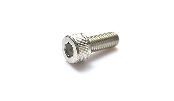 2mm 3mm 4mm 8mm Socket CAP Head Screws BRASS British Made Allen Bolt DIN 912