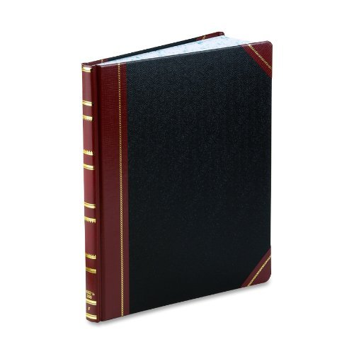 Boorum & Pease Bound Columnar Book, 1-Page Form, 300 Pages, Faint Ruled, 12-1/4 x 10-1/8 (1602 1/2-300-F) by Boorum & Pease by Boorum & Pease