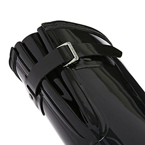 Hunter Original Back Adjustable Gloss - Botas para mujer Black