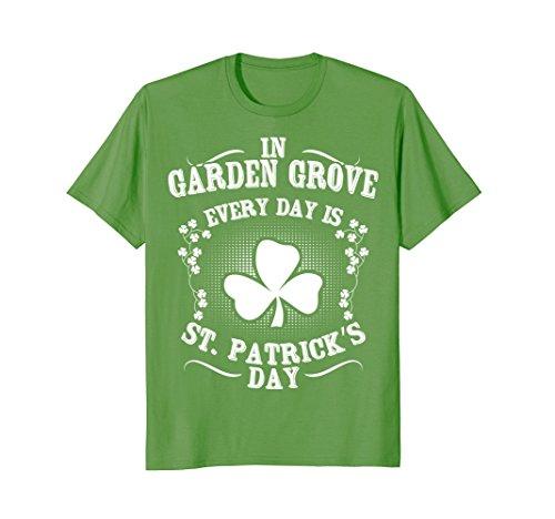 Garden Grove St  Patricks Day Irish Shamrock T Shirt