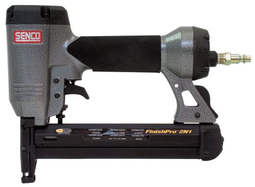 Senco FinishPro2N1 18-Gauge Brad Nailer Stapler, Sequential