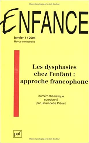 Enfance 2004, numéro 1 pdf