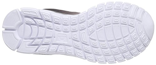 Mesh Baskets Sunrise White Footwear Synthetic Unisex Adulte Basses Black Mixte Blanc Light Kappa SnO61qwIS