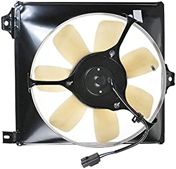 A//C AC Air Conditioner Condenser Cooling Fan for 96-00 Toyota Rav4