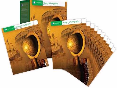 History Lifepac (Lifepac-History & Geography Complet Set (Grade 3))