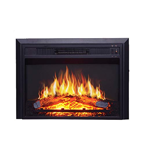 Cheap Liu Weiqin Electronic Fireplace - Embedded Simulation fire Wood Ultra-Thin Electric Fireplace core Heater Ornamental Decoration 584 mm 128mm 435mm Black Friday & Cyber Monday 2019