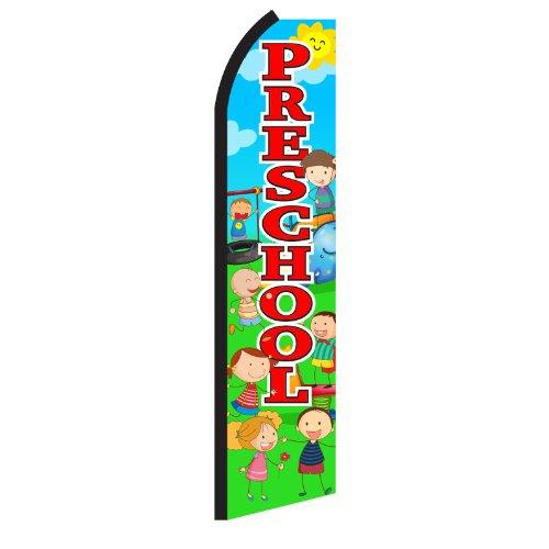 Preschool Playground Swooper Flag by NEOPlex
