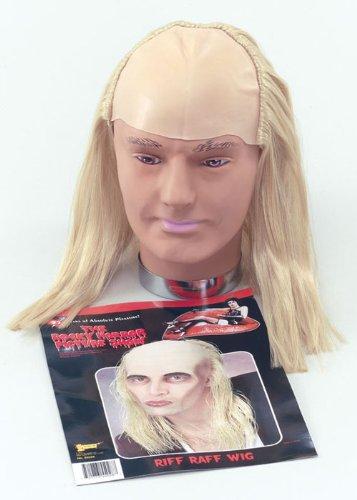 Mens Rocky Horror Riff Raff Wig