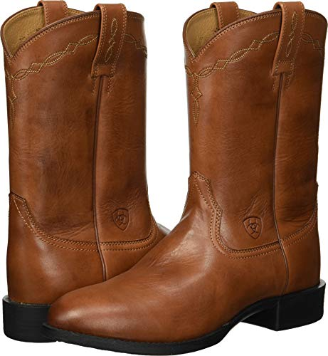 Heritage Mens Boots Roper (Ariat Men's Heritage Roper Western Boot, Naturally Cognac, 11 D US)