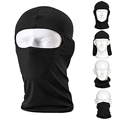 CAILEK Balaclava Ski Mask (2 Pack) Bicycle Premium Face Mask for Outdoors Riding Tactics Go Fishing Dustproof Cold Motorcycle Headgear Mask