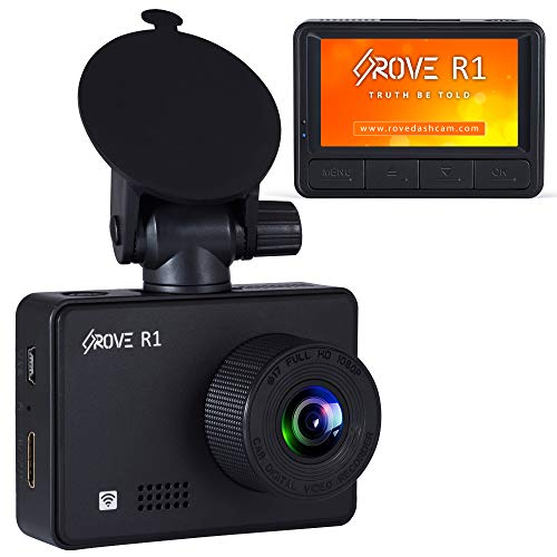 Rove R1 Dash Cam with WiFi and Sony IMX3
