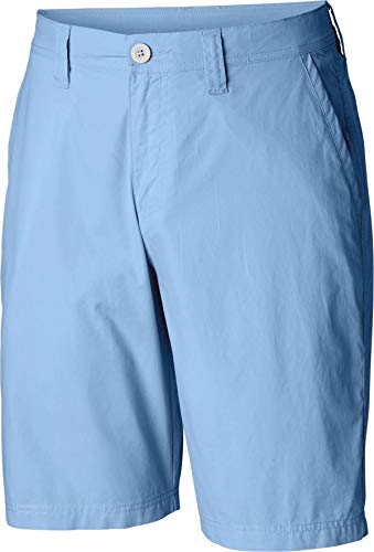 Columbia Men's Washed Out Chino Short, Blue Sky, 36x10