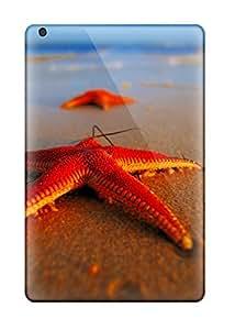 Flexible Tpu Back Case Cover For Ipad Mini/mini 2 - Starfish