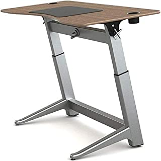 Active Collection Locus 6 Adjustable Standing Desk, Veneer Top, Black Walnut (B01IP1IYQC) | Amazon price tracker / tracking, Amazon price history charts, Amazon price watches, Amazon price drop alerts