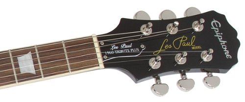 Epiphone Les Paul ''TRIBUTE'' Plus Outfit with Gibson '57 Classic Pickups Includes Case, Vintage Sunburst by Epiphone (Image #5)
