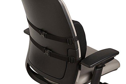 -[ Everlasting Comfort 100% Pure Memory Foam Back Cushion - Orthopedic Design for Back Pain Relief